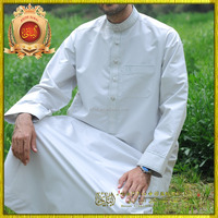 2015 latest kurta designs for men high-grade thobe jubah lelaki men's thobe and thawb men islamic clothing