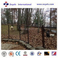 Reliable Supplier ISO 9001:2008 cheap rabbit cage with pvc chain link fence for protective (anping factory)