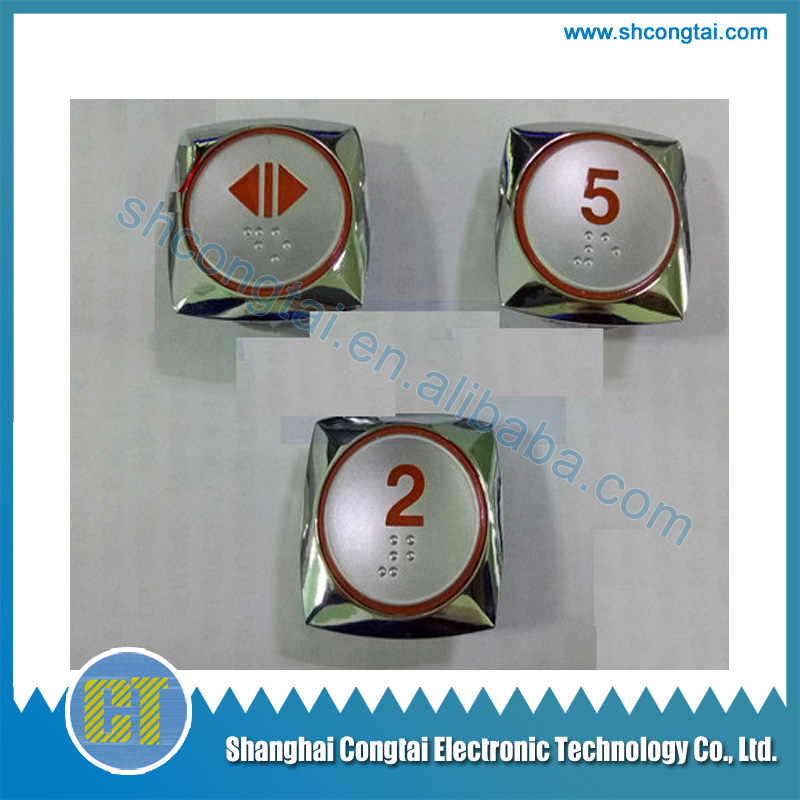 CC-HTR Hyundai Elevator Push Button Switch,size:37*37*14 mm