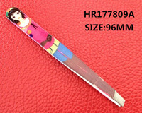 stainless steel lady HR177809A tweezer