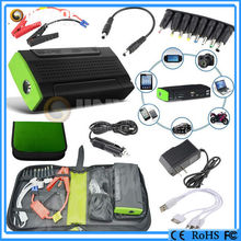 mini booster lithium 13600Mah car emergency tool kit with air compressor