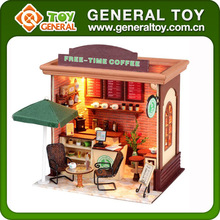 26*21*18cm DIY Miniature House Wooden Doll House