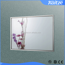 makeup decorative glass wall mounted bathroom mirror