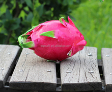 Artificial decorative fake dragon fruit food model for home display