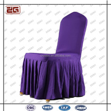 Wholesale Universal Polyester Purple Buy Wedding Chair Covers