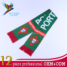 Free design promotional football team mini fans football, soccer scarf, best-selling sport fans scarf protective wear shawl