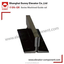 high quality New elevator T75/B guide rail wiht guide wheels