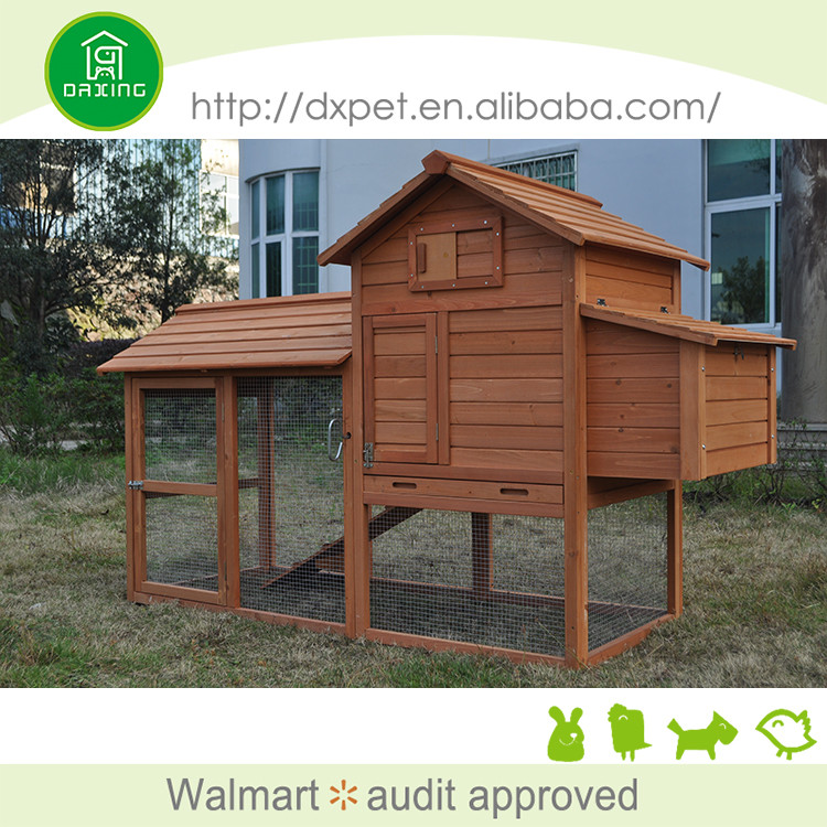 Wholesale fashional hot selling wooden chicken coop