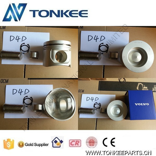 OEM EC140 EC140B piston D4D engine piston