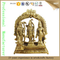 resin hindu gods and goddess indian goddess sculpture ram laxman sita statue for sale