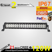 120w top quality top brightness illuminator led light bar for auto truck suv offroad