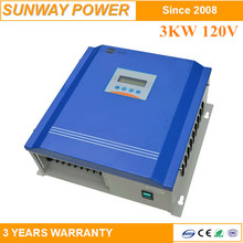 cheap price 3KW 120V solar and wind power sytems for home Battery charge/Grid tied system