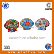 decorative tin containers/ black tin containers/metal tin containers