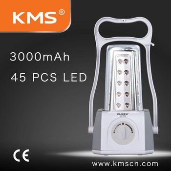 LED rechargeable lantern portable with emergency function