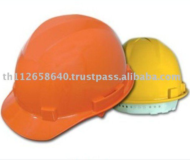 ABS Industrial Safety Helmet with Pin-Lock Suspension (Ansi Standard)