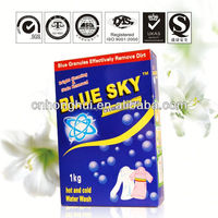 Daily chemical europe detergent powder for household clothes cleaning