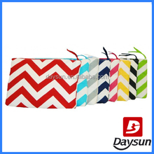 Cosmetic Bag Cosmetic Clutch Lady Makeup Bag in chevron cosmetics bag