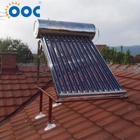 Good Price Copper Coil Compact Pressurized Solar Quick Hot Geyser