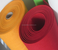recycled plastic bottle felt fabric