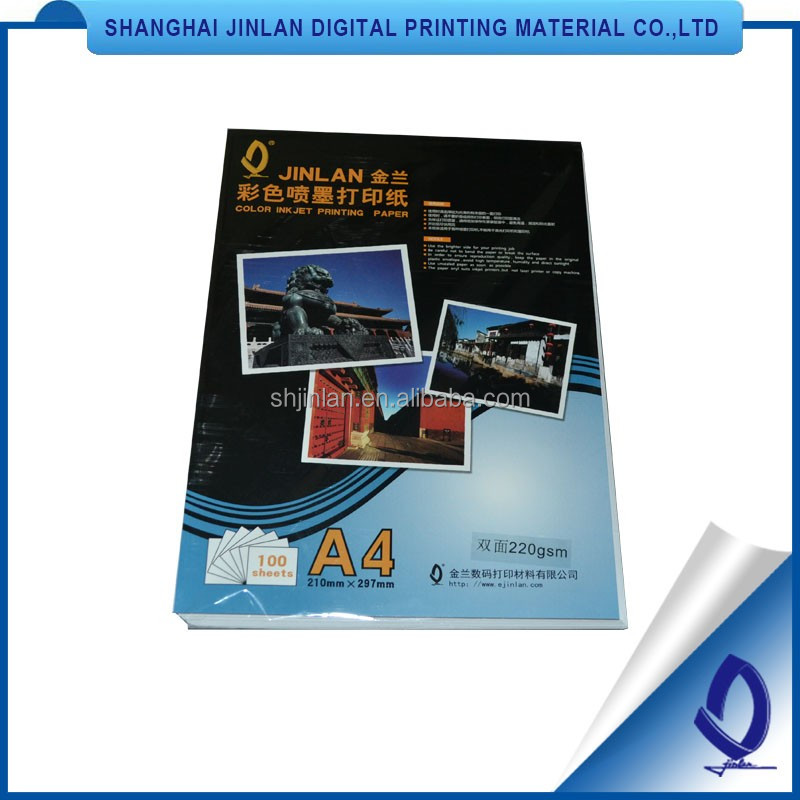 high glossy inkje Factory wholesale recycled paper photo album