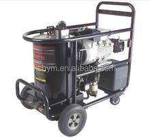 high pressure washer hot water
