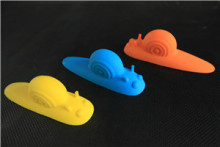 Lovely Design Different Color Snail Shape Silicone Door Stopper