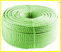 pp 3 strand twist rope , pp rope twisted rope , polypropylene rope 8mm