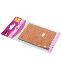 Guaranteed Quality 80X100Mm Cheap Furniture Cork Felt Pads