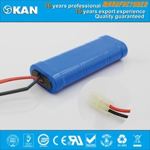 KAN Ni-MH 7.2V 6xSC3000mAh rechargeable battery for nitro rc car, boat, helicopter, rc toy, R/C model