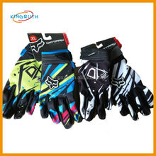 2016 fashion popular cheap high quality motorcycle racing fox gloves
