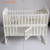 Multifunctional wooden furniture new born sleeping cot cribs baby bed with net mosquito set for 0-3 years