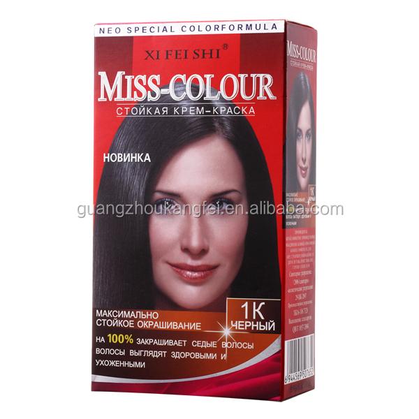 Permanent Hair Dyes, Black Color Rinse