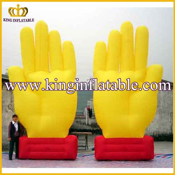 How Sale Advertising Inflatable ModeL Shape, Giant Inflatable Hand