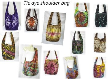 HOBO Hippie Gypsy TIE DYE Sling Shoulder Bag