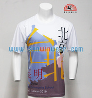 Design your own polo t shirt 100 polyester sublimation printed