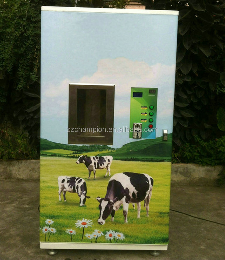 hot sale fresh milk vending machine with three controller