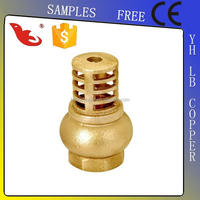 "LB-Gutentop 1/2"" cw617n full brass check valve pn16 with brass filter"