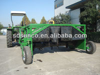 Tractor towable compost windrow turner machine
