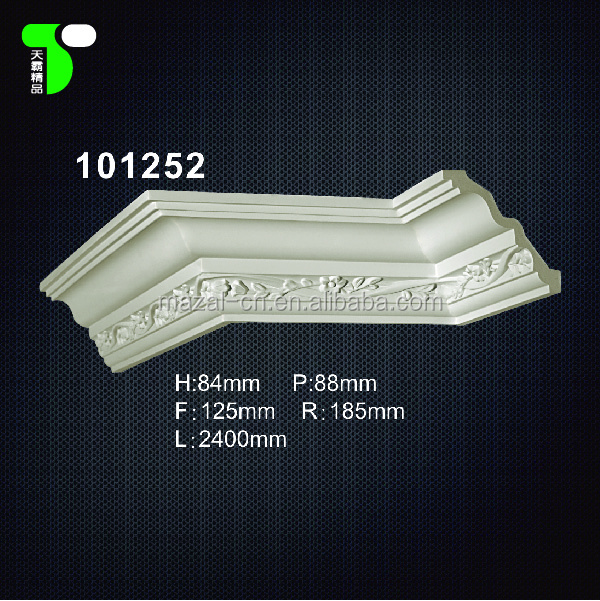 Ceiling Decor Products 101252 and PU Cornice Mold