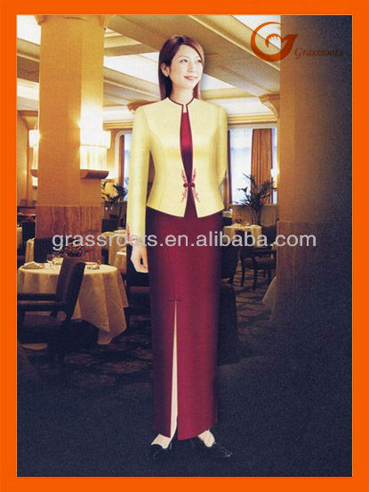 2013 New Style Western Restaurant Hotel manager Uniform