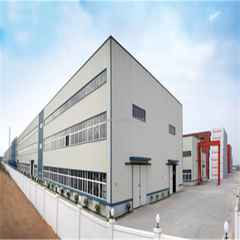 high quality and prefabricated structural steel frame warehouse