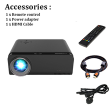 1920x1080 smart portable led full hd projector with HDMI port