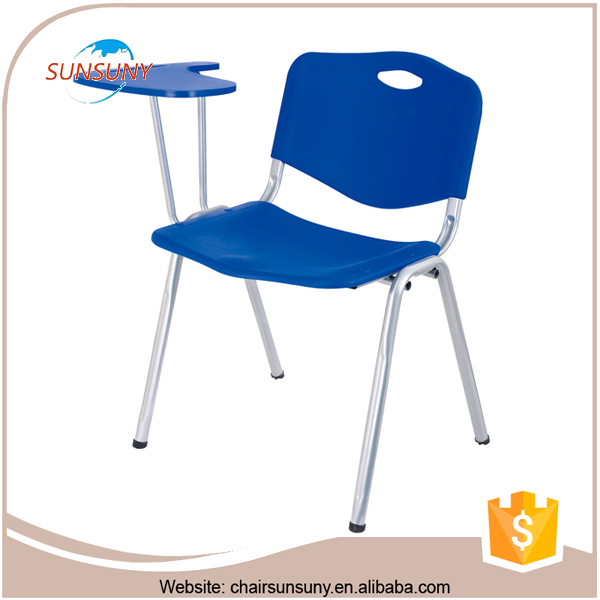 Commercial use modern furniture wholesale cheap plastic school desk chair pad