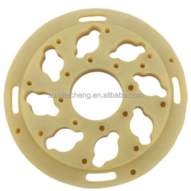 Professional factory manufacture high quality CNC Machining G10 Fr4 Phenolic Gasket Washer with competitive price
