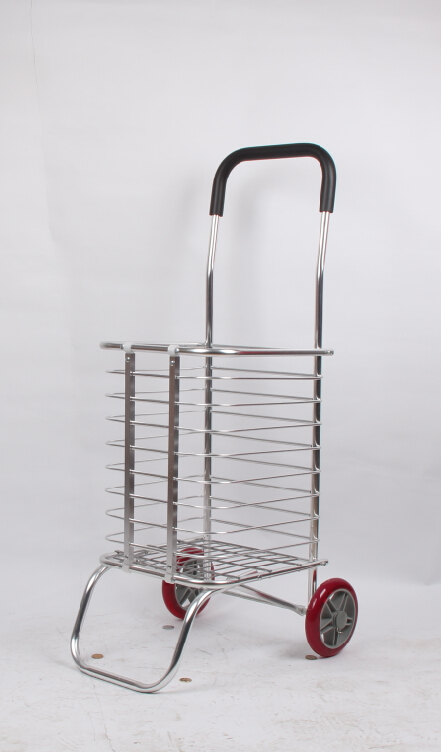 Lightweight aluminum foldable luggage trolley/folding hand trolley for sale