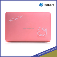 Pink Hello Kitty Print Pattern Hard Shell Plastic Case for MacBook Air 11.6 13.3 Pro Retina 12 13 15 Keyboard Cover