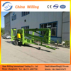 crawler articulated boom lift