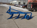 ISO9001 agricultural steel furrow plough for 150hp tractor