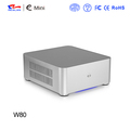Aluminium mini itx pc cases E-W80 , Welcome OEM , no compulsive quantity requirement .