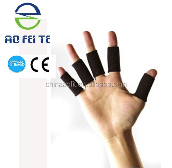 2017 New Product in China Market elastic sports finger protector finger band guard support